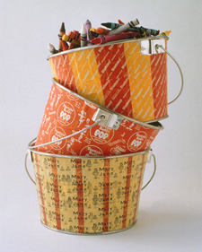 Candy-Wrapper Buckets