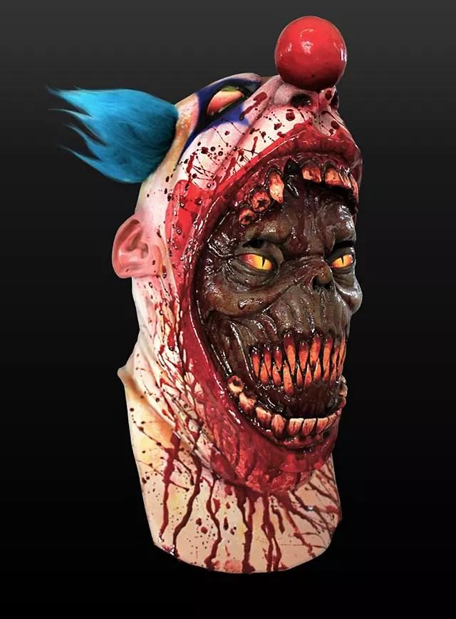 Clown Mask Parasite Made of Latex  maskworldcom