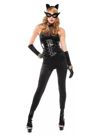 Sexy Comic Cat Woman Costume