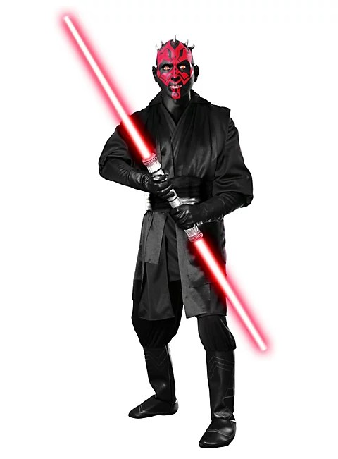 Paypal Hotline Original Darth Maul Kostüm | Star Wars Kostüm - Maskworld.com
