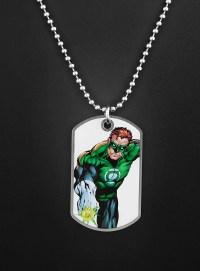 Green Lantern Dog Tag - maskworld.com