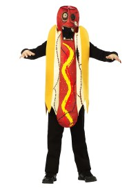 Zombie Hot Dog Kids Costume - maskworld.com
