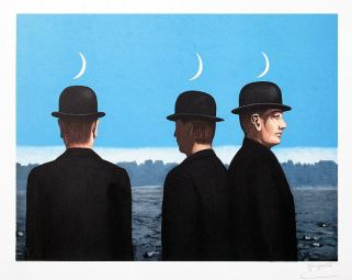 René Magritte, The Masterpiece or the Mysteries of the Horizon, Lithograph  (S)