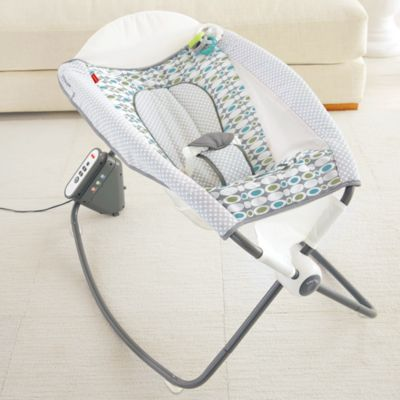 baby sleeper chair sure fit slipcovers wing sleepers rock n play bassinets fisher price auto aqua stone fashion