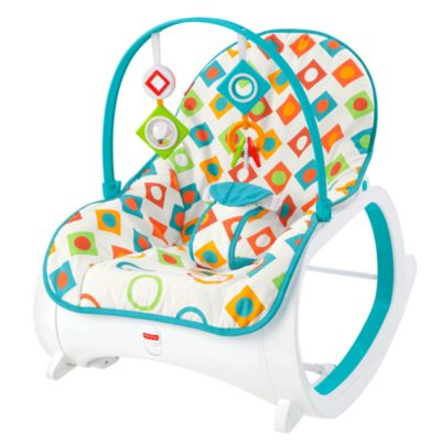 baby chair rocker backpack beach with canopy bouncers bouncer chairs seats rockers fisher price infant to toddler geo diamonds