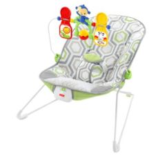 Baby Chair That Vibrates Lawn Repair Webbing Calming Vibrations Bouncer Fisher Price S Geo Meadow