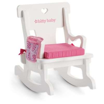 little girl rocking chair web lawn storytime bitty baby american