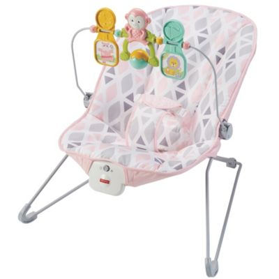 vibrating chair baby flip out sleeper calming vibrations bouncer fisher price s
