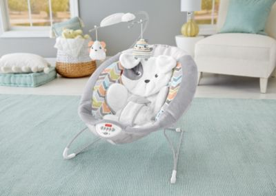 baby rocker chair aluminum dining chairs target bouncers bouncer seats rockers fisher price sweet snugapuppy dreams deluxe