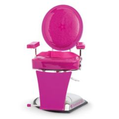 Doll Salon Chair Swivel Round Styling Truly Me American Girl
