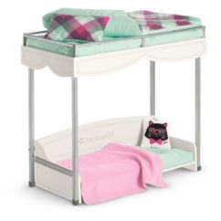 American Doll Chair Black Metal Folding Garden Chairs Accessories Furniture Girl Bunk Bed Bedding