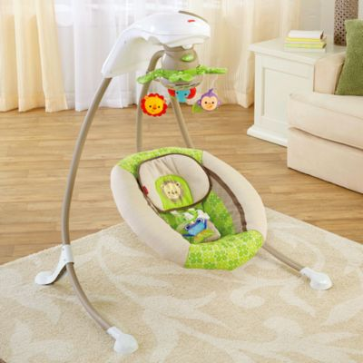 baby chair swinging model no ts bs 16 yuengling folding swings best for newborns infants babies fisher price rainforest deluxe cradle n swing
