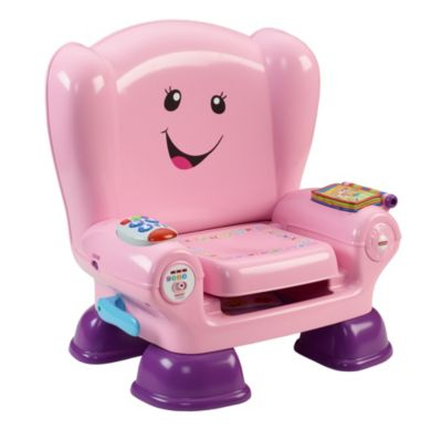 fisher price laugh and learn chair pink hanging b&q smart stages cfd40 image for from mattel