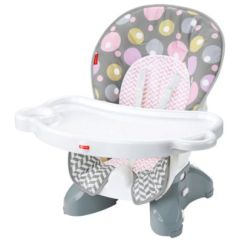 Fisher Price Spacesaver High Chair Cover Tufted Wingback Leather Pad Brilliant Blush Cmr57 Image For From Mattel