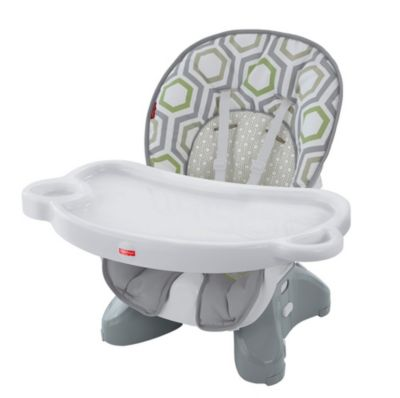 space saving high chair curved leather dining spacesaver geo meadow dkr70 fisher price image for ss from mattel