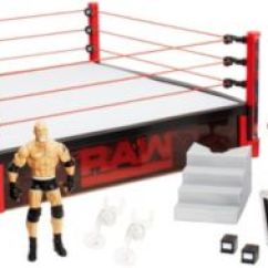 What Are Wwe Chairs Made Of Black Table White Raw Main Event Ring Dxg60 Mattel Shop Image For Elite Scale From