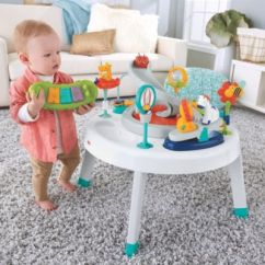 Fisher Price Sit And Play Chair Big Tall Office Chairs 2 In 1 To Stand Activity Center Ffj01 Image For Stationary Entertainer From Mattel