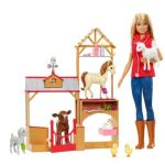 Barbie Sweet Orchard Farm Doll And Barn Playset Gck86 Barbie Shop