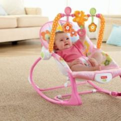 Pink Toddler Rocking Chair Kids Table And Chairs Infant To Rocker Y4544 Fisher Price Image For Itt Bunny From Mattel