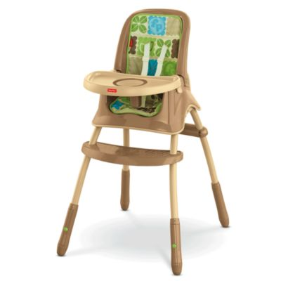 fisher price rainforest healthy care high chair 2 stadium chairs at walmart friends grow with me y8644 image for hi simple sig style from mattel