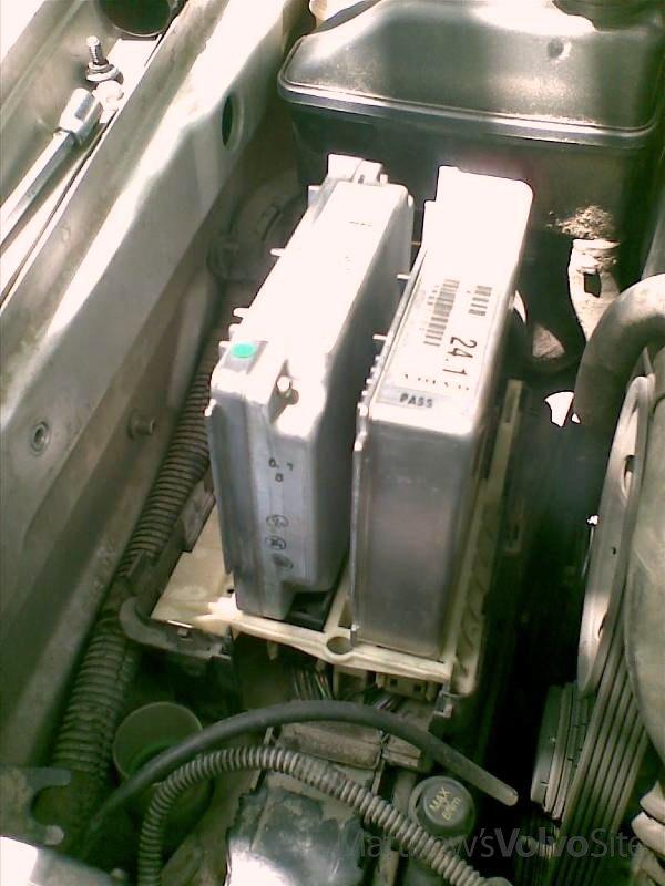DIY accessremove ECM  TCM on 850 S70 V70 XC70 C70