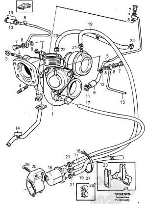 Vacuum Hose Diagrams  19942000 FWD Turbos  Matthews Volvo Site