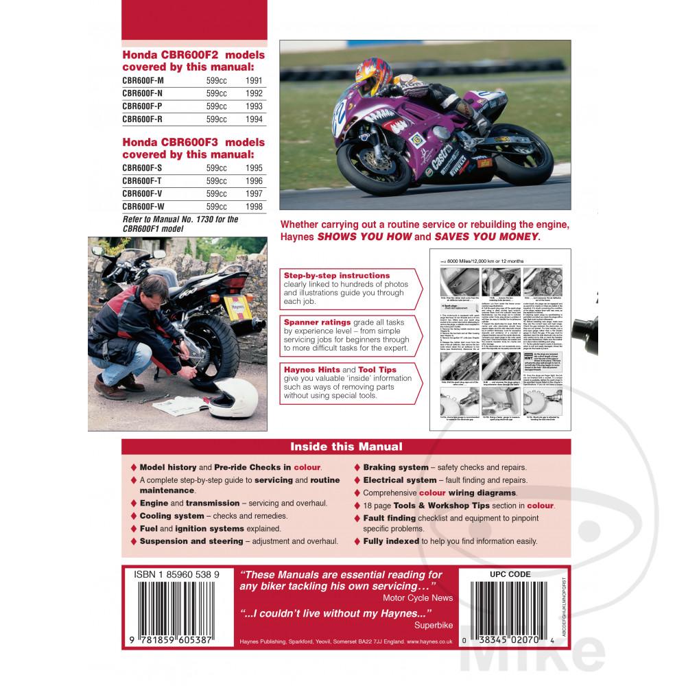 hight resolution of sentinel motorcycle haynes service repair manual 2070