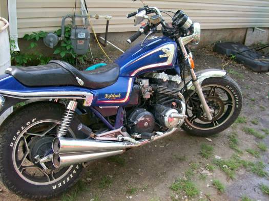 82 Honda Nighthawk 750 Parts
