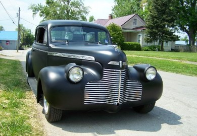1940 Chevy 4 Door Coupe