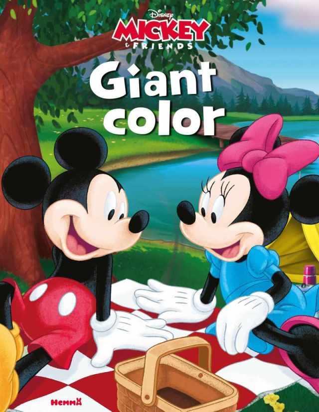 Livre de coloriage Disney Giant color