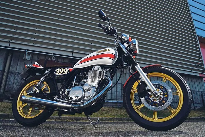 A stunning makeover for the SR400.