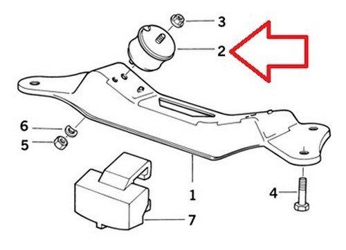 2 X Bmw Oem Transmission Mount Automatic Manual E31 E32