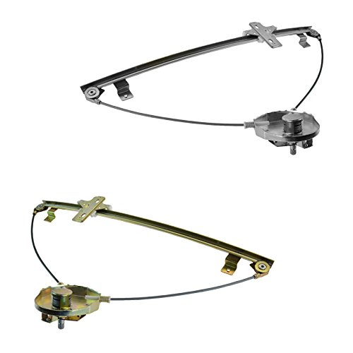 Manual Window Regulator Left Right Pair for Chevy Tracker