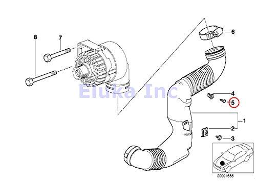 8 X Bmw Genuine Hex Head Metal Screw 4 18 Mm 0i 0il 740ilp