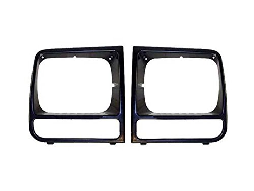 Bundle 1997-2001 Cherokee Headlight Door Bezel Primed