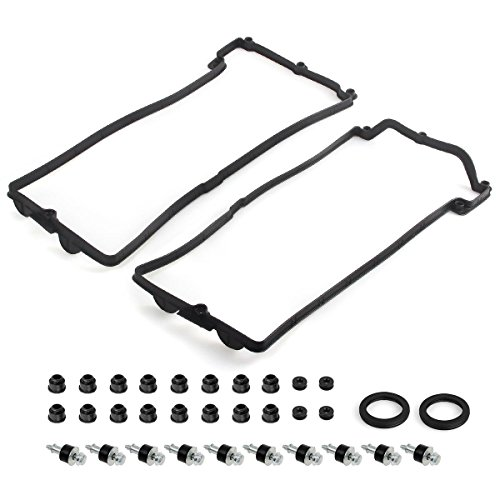 Partssquare Valve Cover Gasket Set for Bmw V8 545i 550i