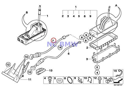 Bmw Mini Genuine Shift Cable Manual Transmission 1000 Mm