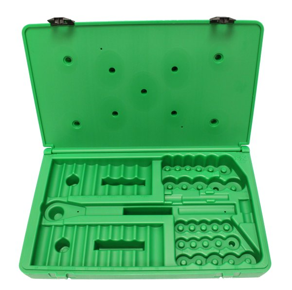 Sk Hand Tool Abox-4147 Blow-molded Replacement Case 4147 And 4147-6 1 2 Drive Socket Sets Green