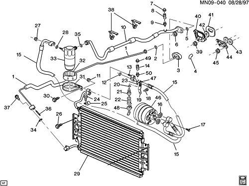 General Motors 52460909 Orificea C Evap Tube