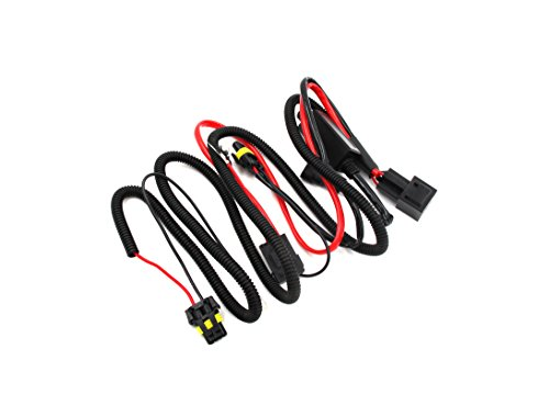 Alla Lighting 9005 9006 Relay Wiring Harness with High
