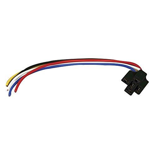 12v Dc Spdt 30 40a 5 Wire 16-14 Ga Gauge Relay Socket