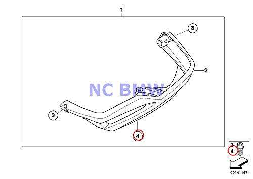 Bmw Genuine Motorcycle Isa Screw M6x25 A15 G650 Xchallenge