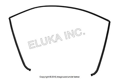 Bmw Genuine Glazing Windshield Moulding Rear Uppera 323i