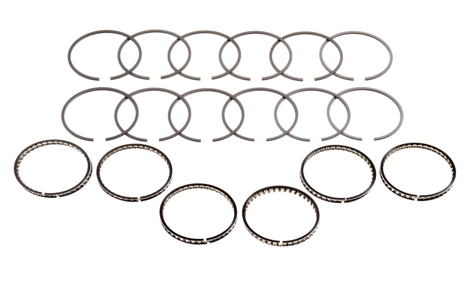 Hastings 6 Cylinder Piston Ring Set