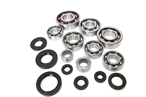 Complete Engine Bottom End Bearings Seals Kit YFS200