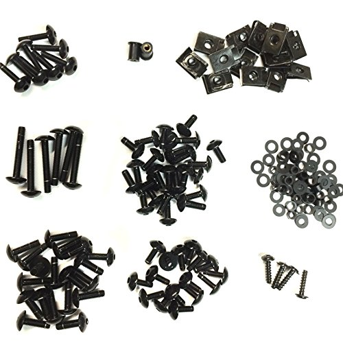 Hk Moto- Complete Fairing Bolts Screws Fasteners Kit for