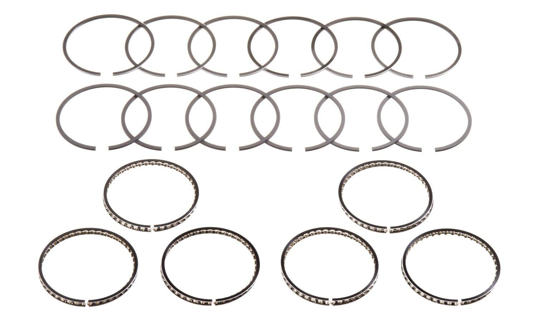 Hastings 2C6160 6-Cylinder Piston Ring Set