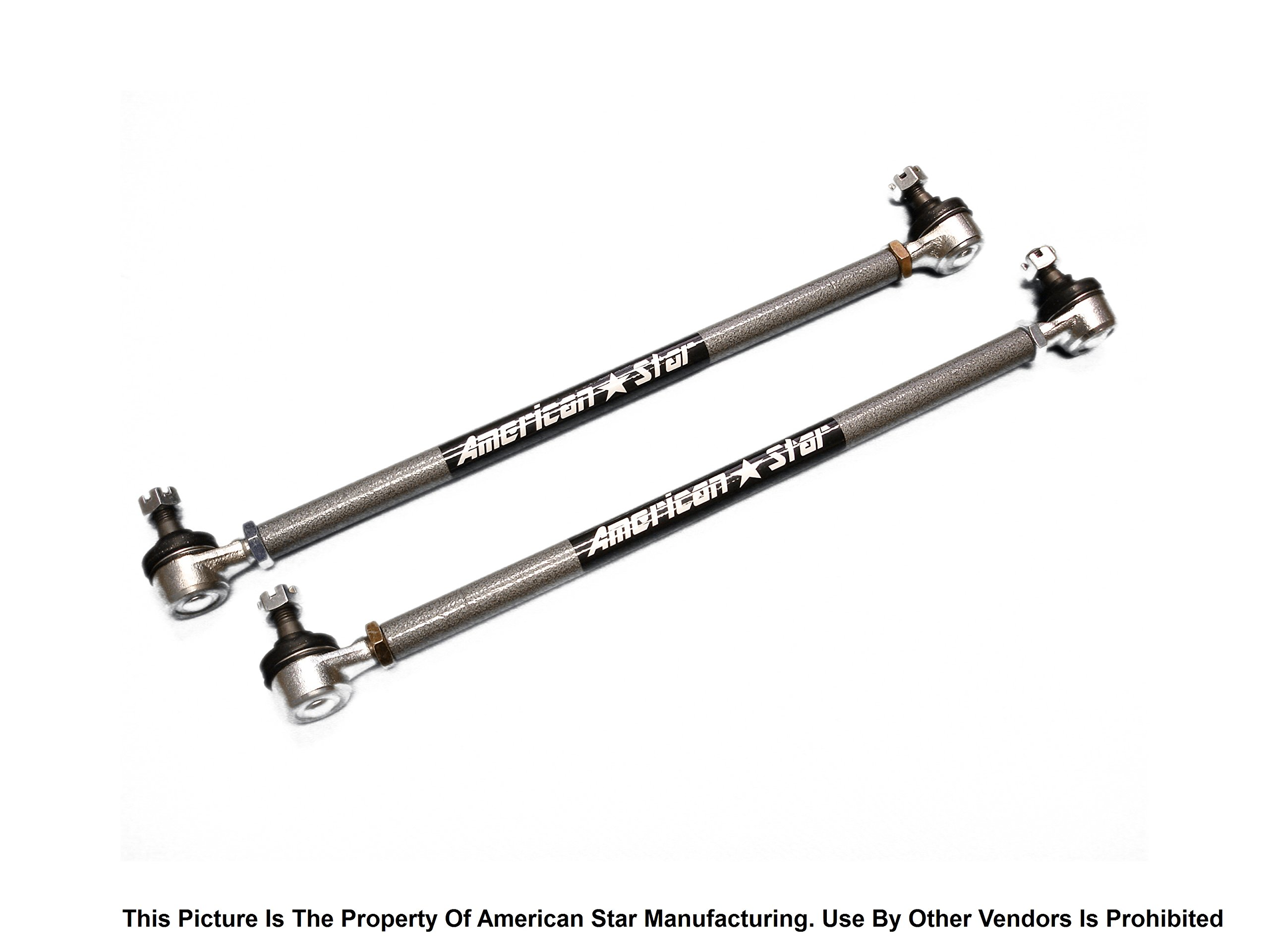 American Star 4130 Chromoly Outer Tie Rod End Set 2 for