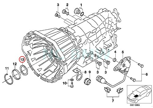 BMW Genuine Corrugated Washer