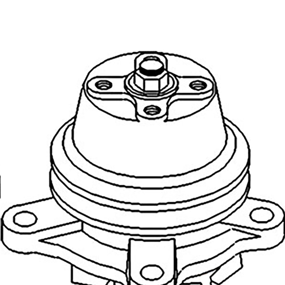 15401-73030 New Water Pump Made to fit Kubota Compact